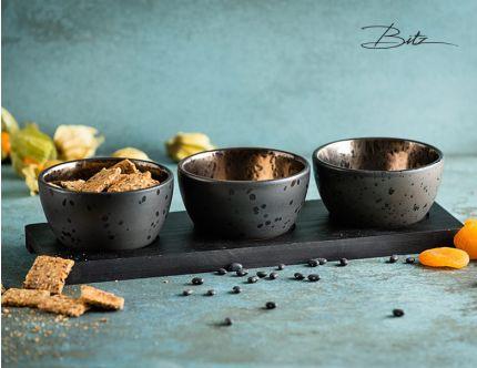 Bitz bronze snacksæt