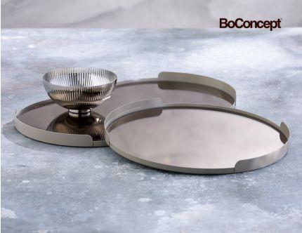 BoConcept rund og oval spejlbakke