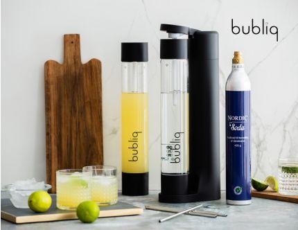 Bubliq drink carbonater med tilbehør