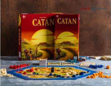 Catan familiespil med udvidelsen