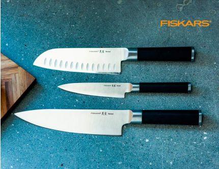 Fiskars SENSEI 3 stk knive