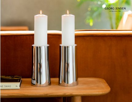 2 stk Georg Jensen Ambience lysestager