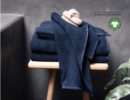 Herringbone håndklæder, 6 stk