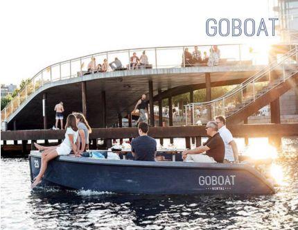 GoBoat med forplejning luksusudgave