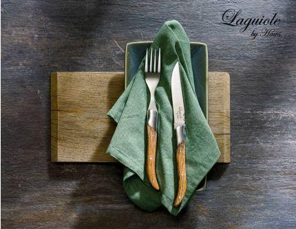 Laguiole steakbestik, 12 dele
