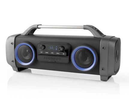Party-boombox med lys
