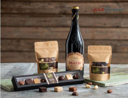 Økologisk vin og chokolade