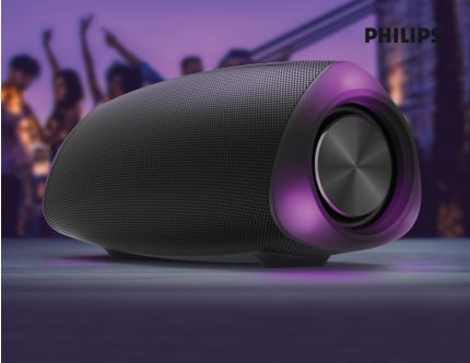 Philips Bluetooth højtaler med lys