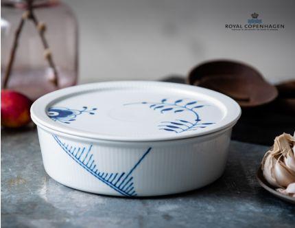 Royal Copenhagen skål med låg 22 cm