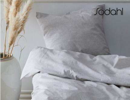 Södahl Chambray sengesæt og 4 stk Comfort håndklæder